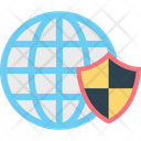 Globe Security Icon
