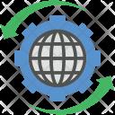 Globe Setting Icon
