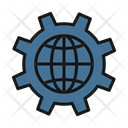 Globe Settings Icon