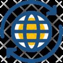 Globe Synchronization Icon