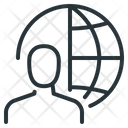 Network Globe User Icon