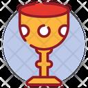 Goblet Religious Glass Holy Grail Icon