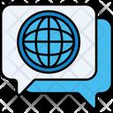 Ilanguage Globla Message International Message Icon