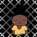 Depress Sad Vee Icon
