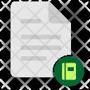 Glossary Book Ebook Icon