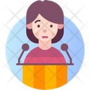 Glossophobia Fear Of Public Speaking Icon