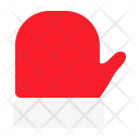 Glove Christmas Wool Icon