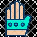 Virtual Glove Virtual Reality Virtual Gloves Icon
