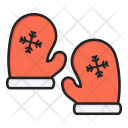 Glove Mittens Winter Icon