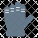 Glove Mitten Wear Icon
