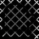 Oven Glove Mitten Icon