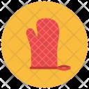 Oven Mitten Glove Icon