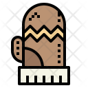 Glove Snow Winter Icon