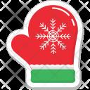 Glove Mitten Winter Icon
