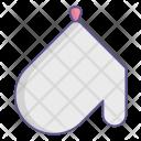 Glove Kitchen Potholder Icon