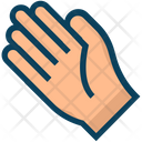 American Football Glove Hand Icon