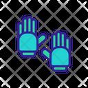 Canoeing Glove Equipment Icon