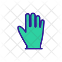Operating Glove Clog Icon