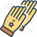 Glove Safety Protective Icon