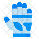 Glove Oven Construction Icon