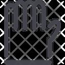 Glove Hand Gloves Icon