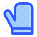 Winter Christmas Glove Icon