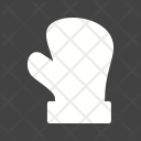 Glove Santa Claus Icon