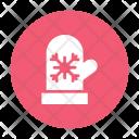 Glove Winter Snow Icon