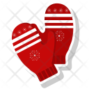 Cold Gloves Christmas Icon