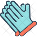 Gloves Hand Medical Gloves Icon