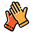 Gloves Hand Protection Latex Icon