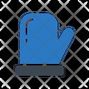 Gloves Hand Woolen Icon