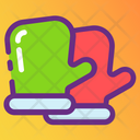 Gloves Construction Gloves Clothing Icon