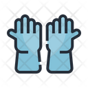 Gloves Experiment Cleaning Icon
