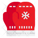 Gloves Xmas Christmas Icon