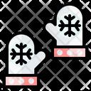 Gloves Winter Snow Icon