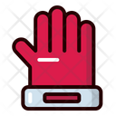 Gloves Protection Goalkeeper Icon