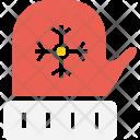Gloves Christmas Xmas Icon