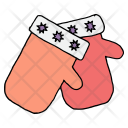 Gloves Protection Snow Icon