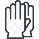 Gloves Clean Cleaning Icon