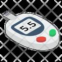 Glucometer Sugar Test Glucose Monitoring Icon
