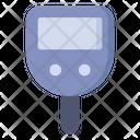 Glucometer Sugar Test Medical Device Icon