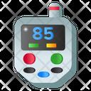 Blood Glucose Meter Glucometer Diabetes Machine Icon
