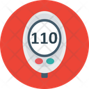 Glucose Meter Medical Device Icon