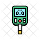 Glucose Monitoring Gadget Icon