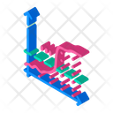 Glucose Level Isometric Icon