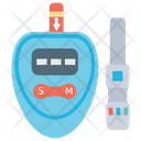 Glucose Meter Blood Glucose Diabetes Icon