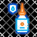 Waterproof Material Glue Icon