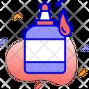 Glue Drop Bottle Icon