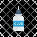 Glue Bottle Office Icon